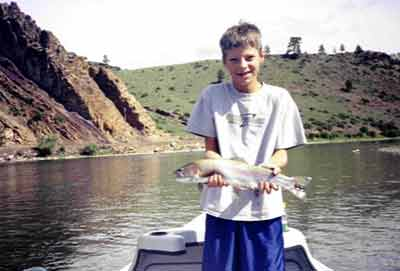 Missouri River Montana trout fly fishing guide outfitter