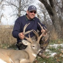 2006 Gary Shingledecker with a unique whitetail